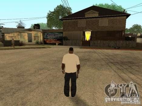 Футболка с Травой для GTA San Andreas четвёртый скриншот