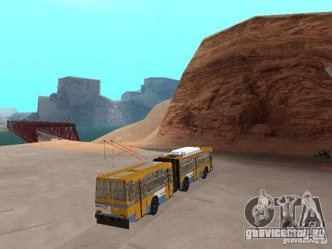 Прицеп ЮМЗ Т1 для GTA San Andreas вид слева
