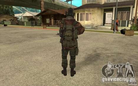 Спецназ Вымпел для GTA San Andreas третий скриншот