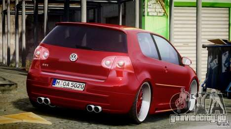 Volkswagen Golf GTI 2006 v1.0 для GTA 4 вид сбоку