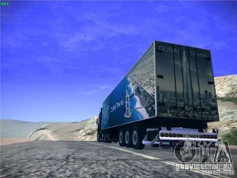 Прицеп для Scania R620 Dubai Trans для GTA San Andreas