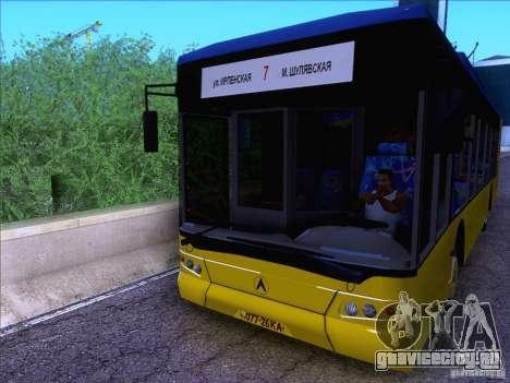 ElectroLAZ-12 для GTA San Andreas вид сзади слева