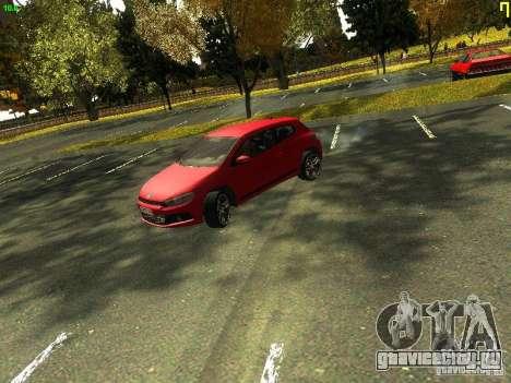Volkswagen Scirocco 2009 для GTA San Andreas вид слева