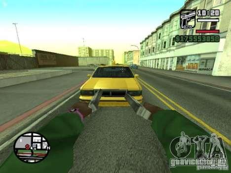 Вид от первого лица (First-Person mod) для GTA San Andreas девятый скриншот