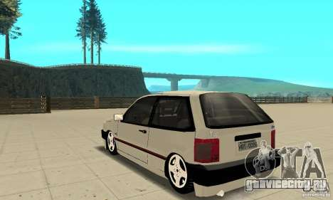 Fiat Tipo 2.0 16V 1995 для GTA San Andreas вид сзади слева