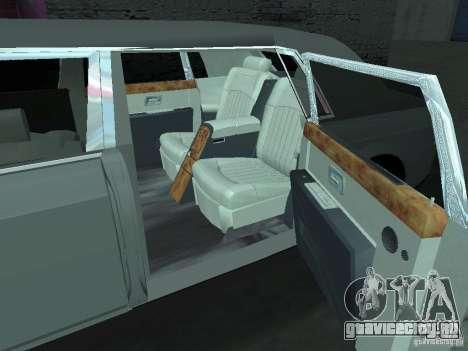 Rolls-Royce Phantom Limousine 2003 для GTA San Andreas вид справа
