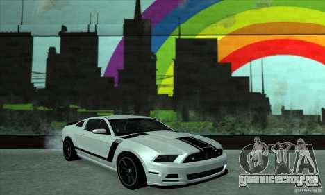 Ford Mustang Boss 302 2013 для GTA San Andreas