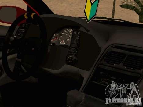 Nissan 300ZX JDM для GTA San Andreas вид сзади