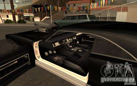 Dukes из GTA4 для GTA San Andreas вид справа
