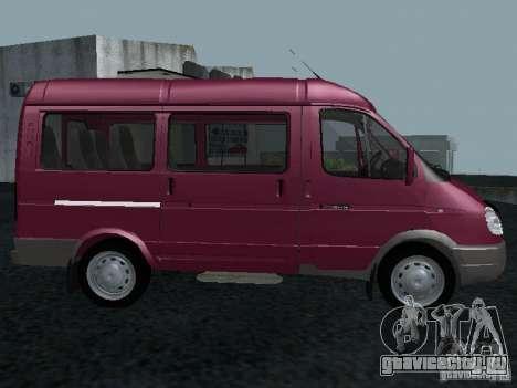ГАЗ 2217 Соболь для GTA San Andreas вид слева