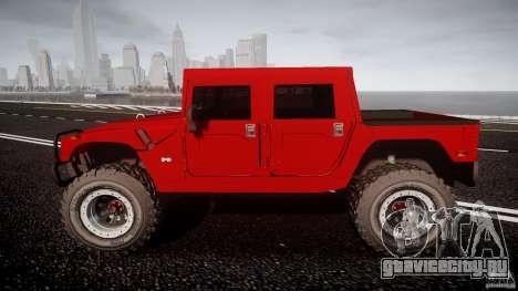Hummer H1 4x4 OffRoad Truck v.2.0 для GTA 4 вид изнутри