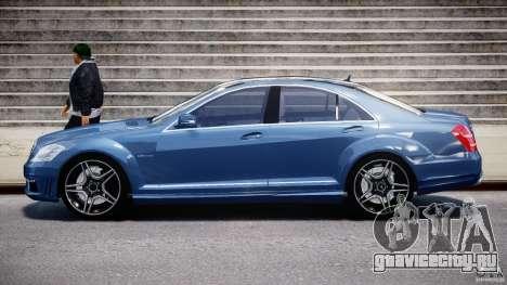 Mercedes-Benz S63 AMG [Final] для GTA 4 вид слева