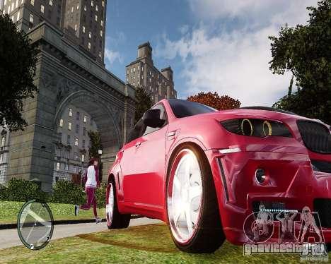 BMW X6M Lumma для GTA 4 вид слева