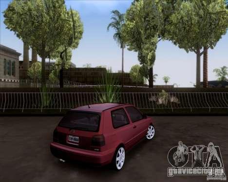 Volkswagen Golf MK3 VR6 для GTA San Andreas вид слева