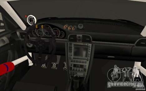 Porsche 997 Rally Edition для GTA San Andreas вид сверху