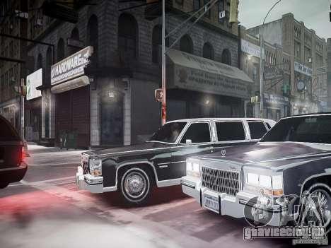 Cadillac Fleetwood 1985 для GTA 4 вид сбоку