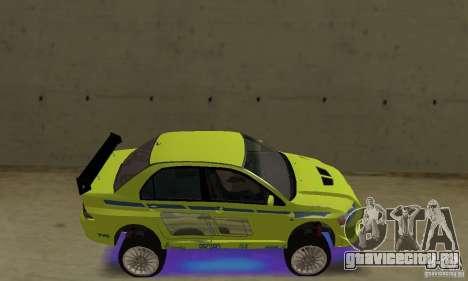 Улучшенная синяя неоновая подсветка для GTA San Andreas второй скриншот