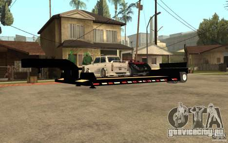 Trailer lowboy transport для GTA San Andreas