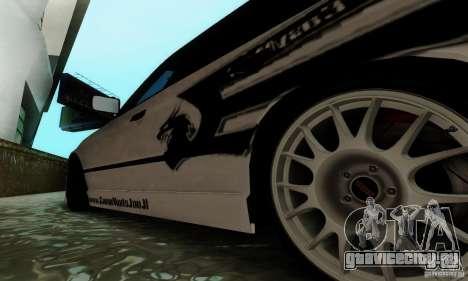 BMW E34 540i Tunable для GTA San Andreas вид сверху