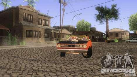 Plymouth Duster 440 для GTA San Andreas салон