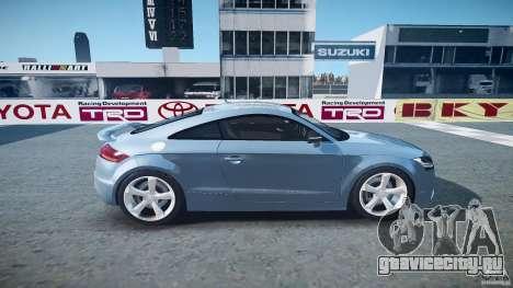 Audi TT RS 2010 для GTA 4 вид сбоку