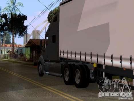 Peterbilt 389 для GTA San Andreas вид сзади