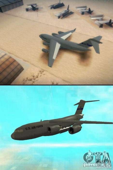 C-17 Globemaster для GTA San Andreas