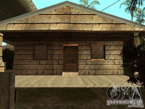 Ретекстур домов на Groove Street для GTA San Andreas второй скриншот