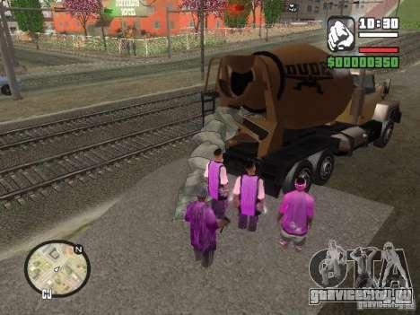 Chement для GTA San Andreas второй скриншот