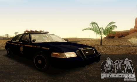 Ford Crown Victoria Nevada Police для GTA San Andreas