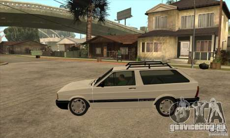 VW Parati GLS 1989 для GTA San Andreas вид слева