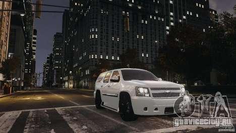Chevrolet Tahoe tuning для GTA 4