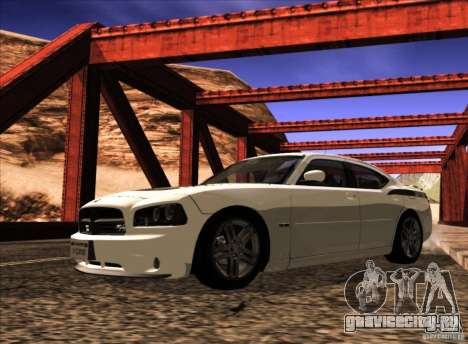 Dodge Charger R/T Daytona для GTA San Andreas вид сбоку