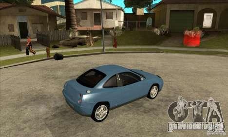 Fiat Coupe - Stock для GTA San Andreas вид справа