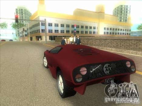 Infernus из GTA IV для GTA Vice City вид справа