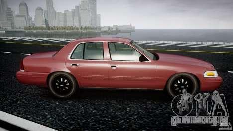 Ford Crown Victoria 2003 v.2 Civil для GTA 4 вид изнутри
