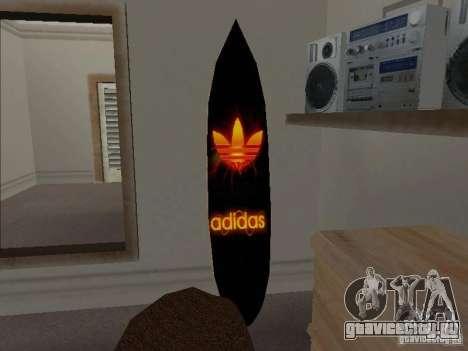 Новый Сёрф в Доме CJ для GTA San Andreas