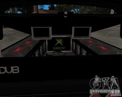 Chevrolet Silverado 1996 Lowrider для GTA San Andreas вид справа