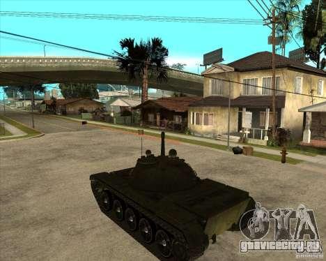 Т-55 для GTA San Andreas вид слева
