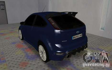 Ford Focus RS для GTA San Andreas вид справа