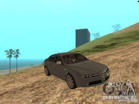 Alfa Romeo 159Ti для GTA San Andreas вид изнутри