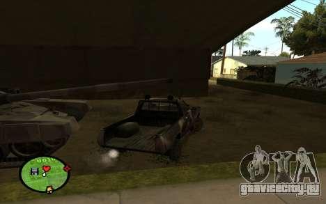 DATSUN 620 для GTA San Andreas вид сзади слева