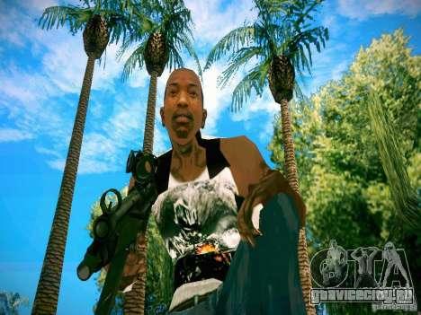 HD пак оружия для GTA San Andreas восьмой скриншот