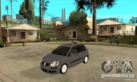 Volkswagen Polo 2008 для GTA San Andreas