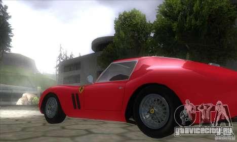 Ferrari 250 GTO 1962 для GTA San Andreas вид слева