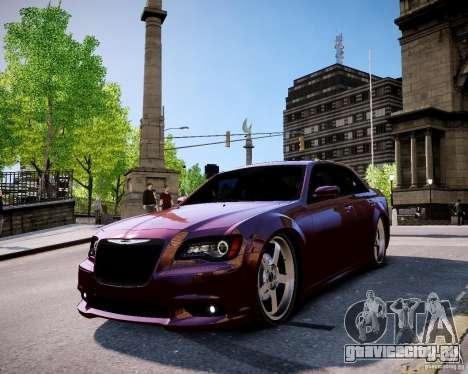 Chrysler 300 SRT8 DUB 2012 для GTA 4 вид справа