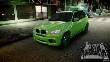 BMW X5 M-Power wheels V-spoke для GTA 4 салон
