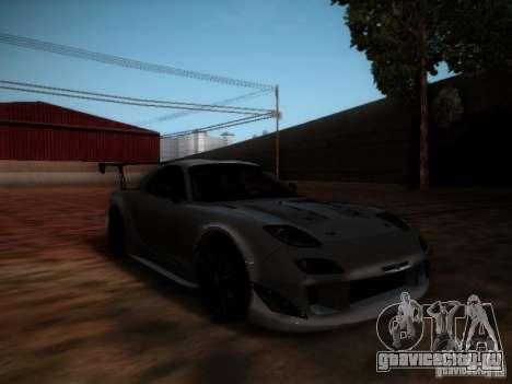 Mazda RX7 Drift для GTA San Andreas вид слева