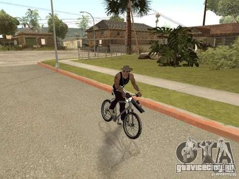 Прятать-доставать оружие в машине для GTA San Andreas