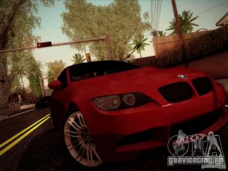 BMW E92 v2 Updated для GTA San Andreas вид слева